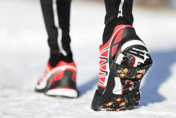 The ice cleats